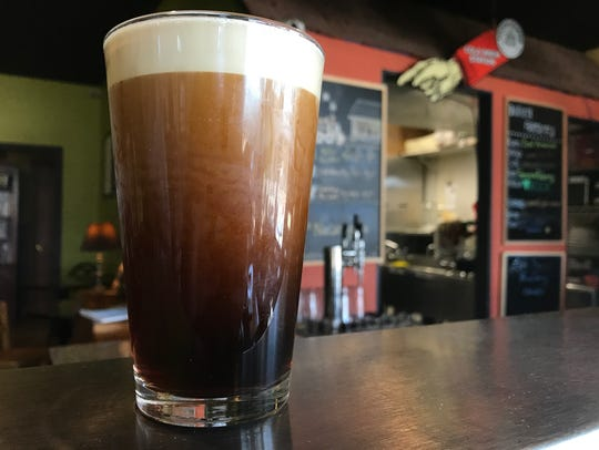 Cold brew is served on nitro or you can get it steamed