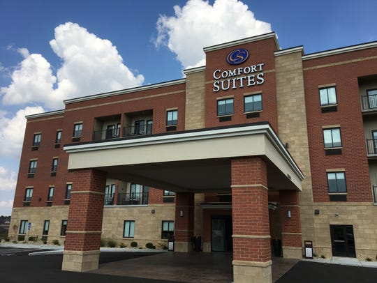 Comfort Suites opened 84 rooms in July 2017 at 5905