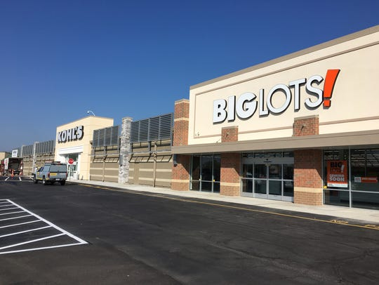 A new Kohl's store and a new Big Lots are opening in