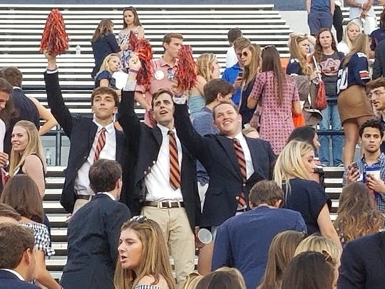 FarmHouse fraternity pledges all from Montgomery (L