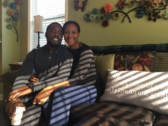Terrell and Inez Coring were reunited Wednesday after