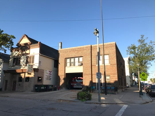 Milwaukee Fire Station 6, one of the six slated for closure under the mayor's proposed 2018 budget, is located at Franklin Place and Brady St.