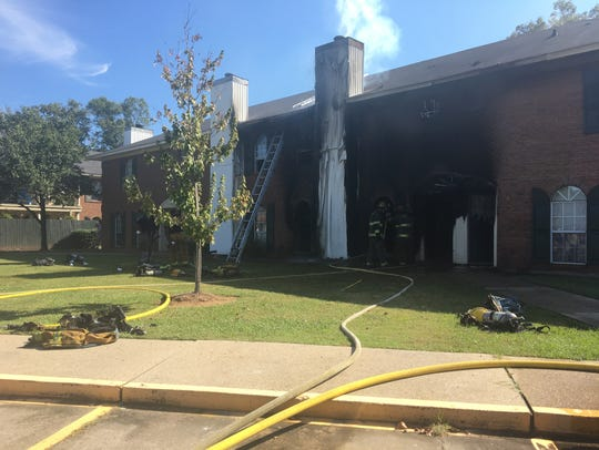 No residents or firefighters were injured in the fire