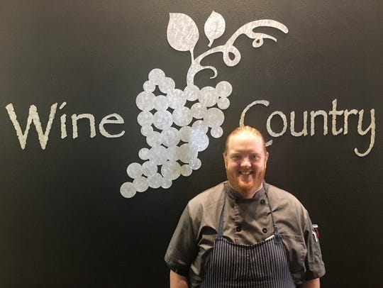 Nick Simons is the new chef de cuisine at Wine Country