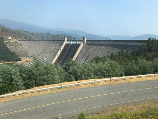Shasta Dam soon will be off-limits to drone pilots.
