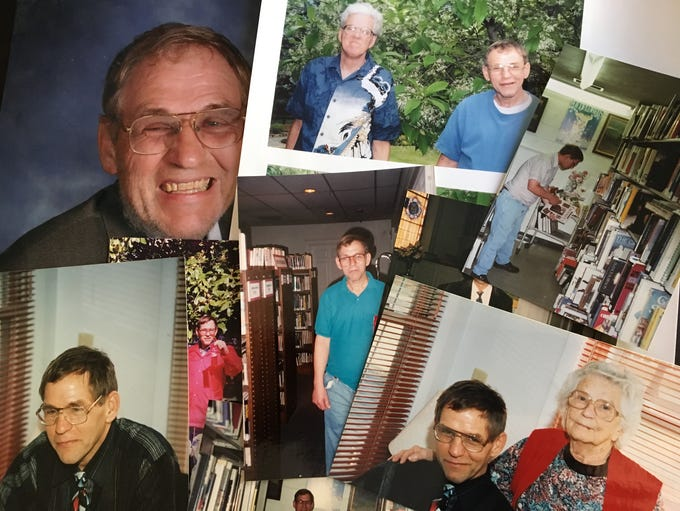 Photographs of Gary Kiracofe from a photo album belonging