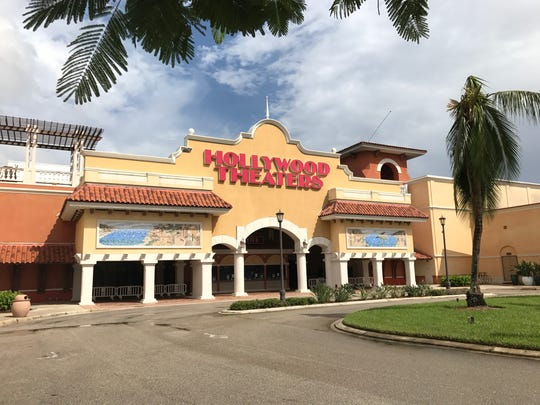 The movie theater at Coconut Point remains closed due to Hurricane Irma damage.