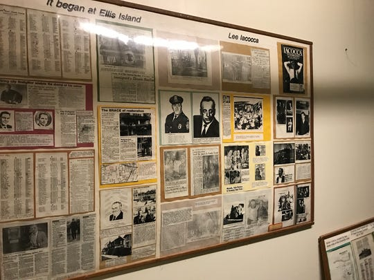 The basement of IACC is filled with newspaper clippings of Italian Americans