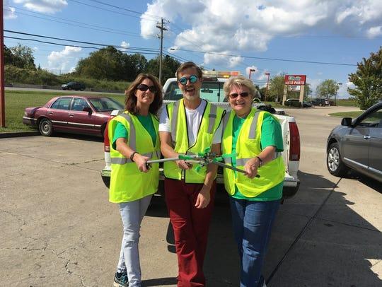 Gallatin employees Dianna Johnson, Jeff Hentschel and