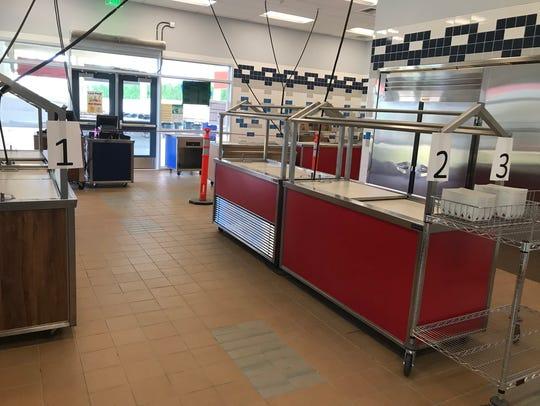 The new La Quinta Middle School cafeteria.
