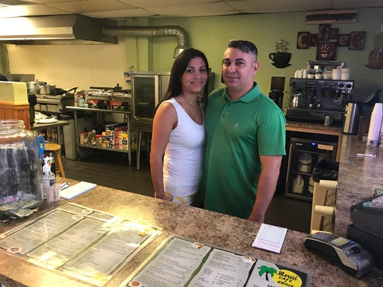 Ivelisse and Ivel Sierra own Mervis' Cafe at 402 S. Fifth Street in Fort Pierce.