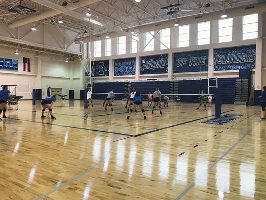 Dugan Wellness Center volleyball