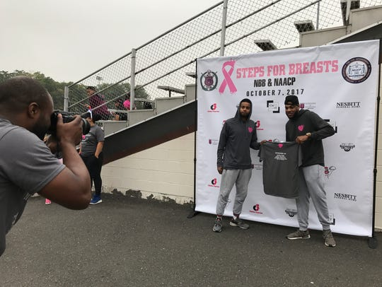 Steps for Breasts organizer Dennis Hickerson-Breedon