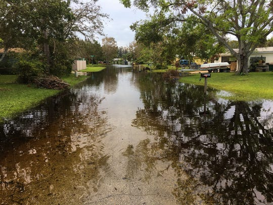 Matthew Drive near Rockledge is one of several streets