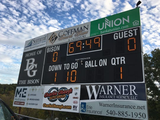 Nothing on the current scoreboard at Buffalo Gap indicates that the team won a state title in 2007.