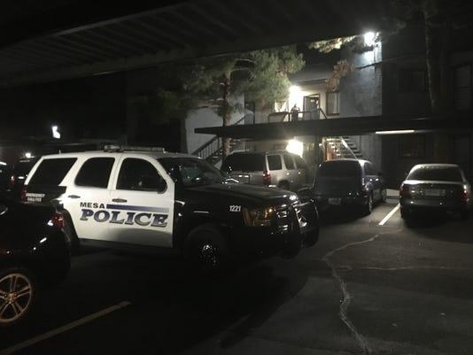 Mesa police shooting