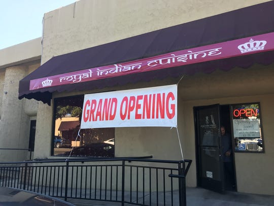 Royal Indian Cuisine opened Monday on Placer Street in downtown Redding.