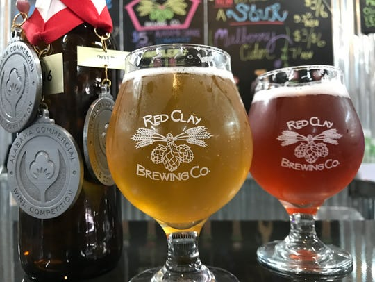 Red Clay Brewing Company in Opelika.