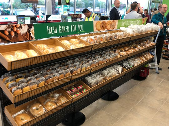 A display showing off QuickChek's fresh-baked bakery items is part of this new prototype store in Brick.