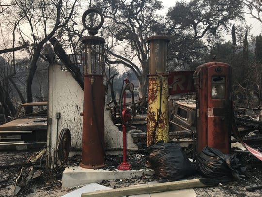 The Nuns Fire destroyed Rick Dunham's garage filled with some of his most prized possessions.