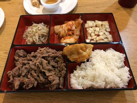 The beef bulgogi at Korean BBQ had a great consistency