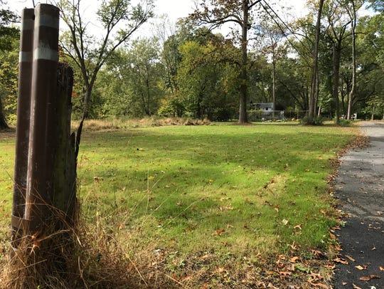 Neighborhoods within Wayne's flood zones are dotted