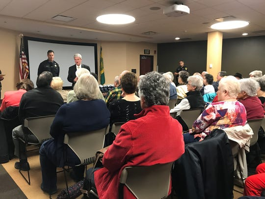 Monroe County Sheriff's Office held a graduation for the Senior Citizen Police Academy.