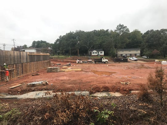 A new Jervey Eye Group facility is being built in the Dunean Community in Greenville.