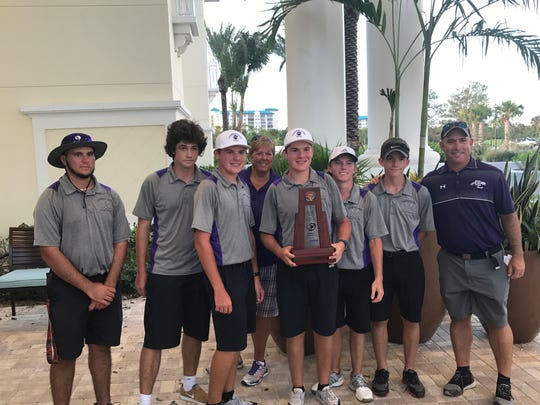 Cypress Lake, led by medalist Trevor Humphrey's 72, shot a 322 total to come home in second place at the District 2A-20 championships at Shell Point on Monday.