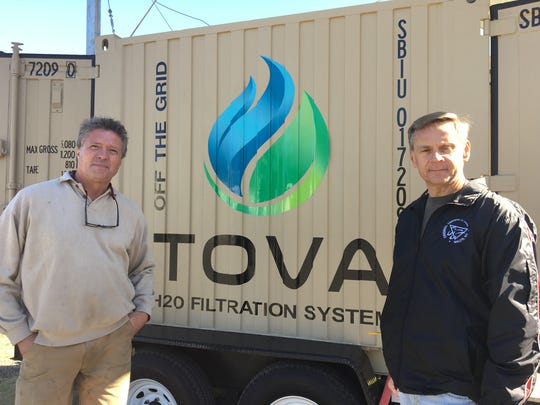 Rob Elfstrom (left) and Kevin McGinley, co-owners of