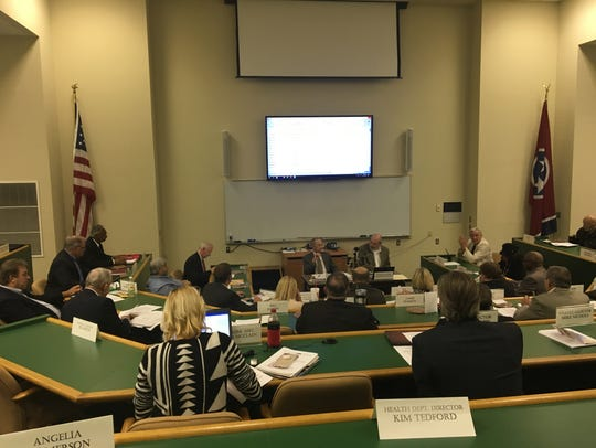 The Madison County Commission met Monday, October 16,