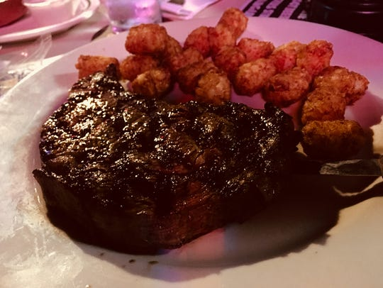 Ten-ounce ribeyes are $5.99 on Thursday nights at Hadley's