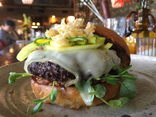 Burgers are served only on Tuesdays at Goodkind, 2457