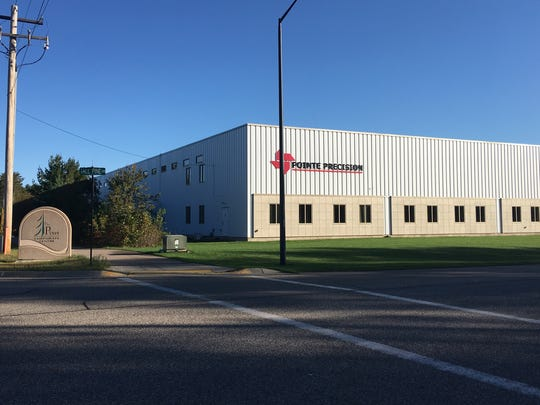 Pointe Precision is a contract machine shop, located at 2675 Precision Drive in Plover.