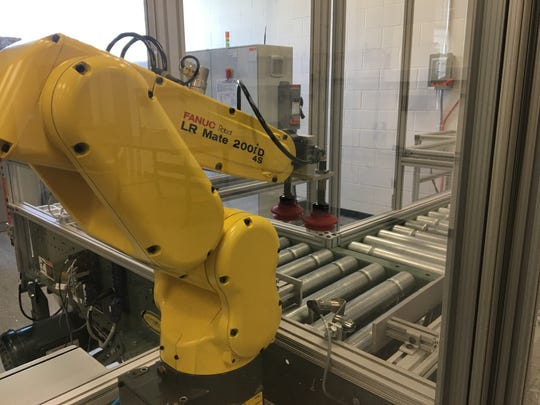 Jackson State Community College will house a total of five new robots after receiving a $150,000 grant from the Delta Regional Authority.