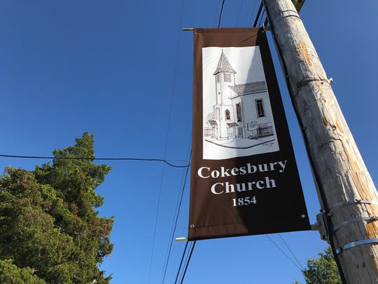 The Cokesbury Church is one of the historic sites featured