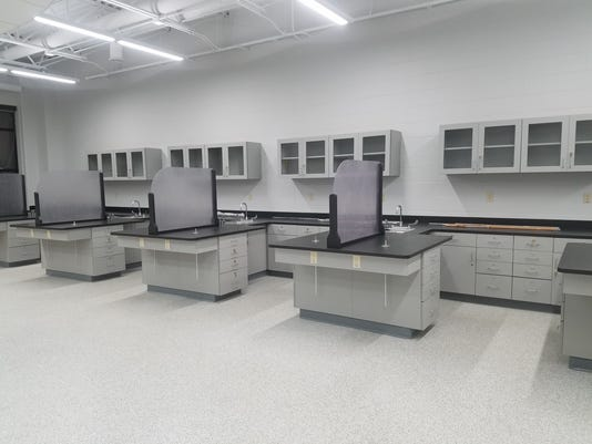 Columbus Catholic High School Science Lab