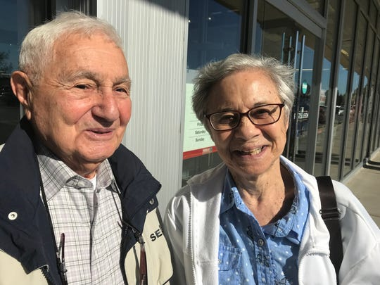 Tony and Lois Mileo of Nanuet talk about the Yankees'