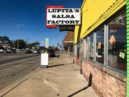 Lupita's Salsa Factory offers a range of specialty salsas and Mexican dishes.