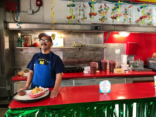 Lupita's Salsa Factory offers a range of specialty salsas and Mexican dishes. Owner Julian Orta learned the recipes from his mother.