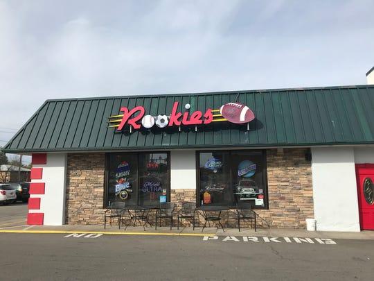Rookies Sports Bar & Grill, 716 East Ridge Road in Irondequoit.