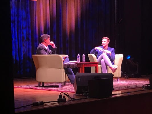 Abby Wambach talks with D&C Jeff DiVeronica