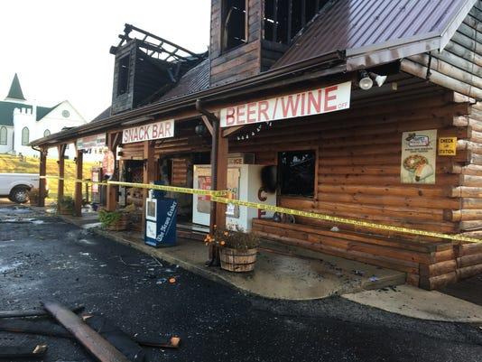 Greenville Grocery fire