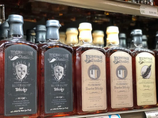 JourneyMan Distillery spirits will be featured at the