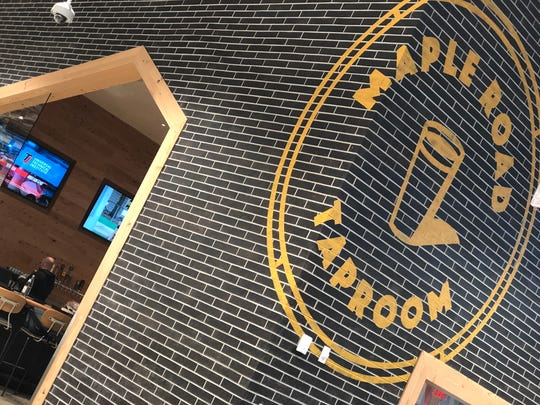 The Maple Road Taproom is a  highlight of the new Whole Foods Market in Birmingham.