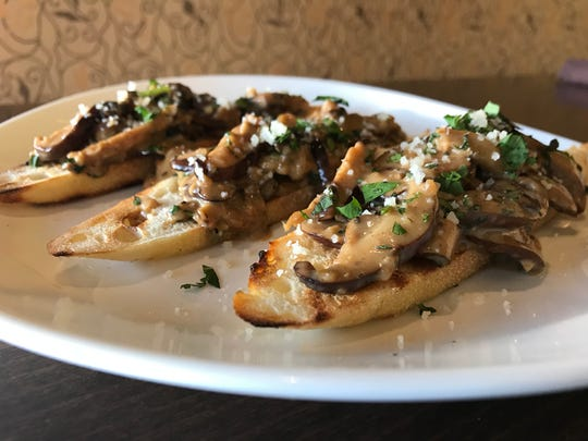 Drunken mushrooms from Pier 465 will be among the featured dishes Saturday at Wisconsin Food & Wine Experience