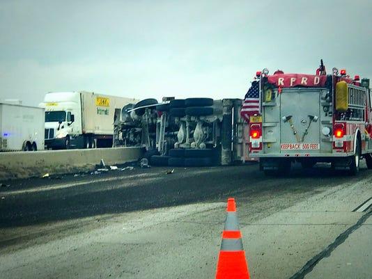 Crash delays I-94 eastbound in Racine County