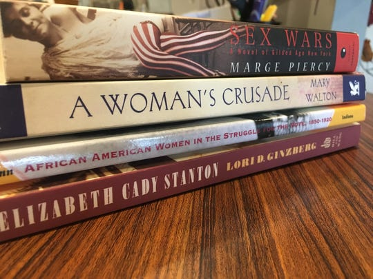 A book club at Roberson Museum will discuss women's suffrage.