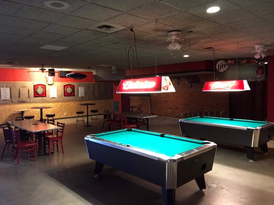 The Little River Club's current game room at 4205 South Bryant Boulevard, Oct. 25, 2017