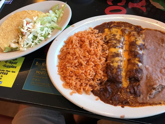 Spicy Mexico in Bowie offers a tamale plate may match